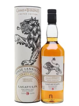 Lagavulin 9 YO Game of Thrones House Lannister