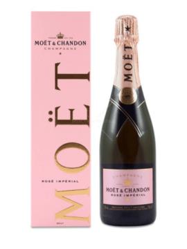 Champagne Moet Rose